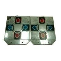 China (Lot of 2) Dance Dance Revolution DDR Metal Controller Pads for Arcade 15-Pin on sale
