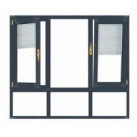 Aluminum double casement sash window Manufactures