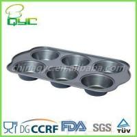 6 cup jumbo muffin pan Non-Stick Carbon Steel 6 Big Cup Jumbo Muffin Tray Manufactures