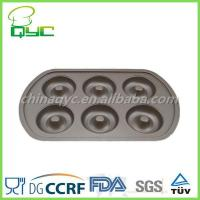Non-Stick Carbon Steel 6 Cups Donut Pan Manufactures