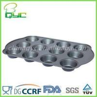 best non stick muffin pan Non-Stick Carbon Steel Twelve Hole Deep Muffin Baking Pan Manufactures