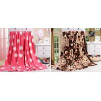 China 100% Polyester Coral Fleece Blanket PB-A01 wholesale