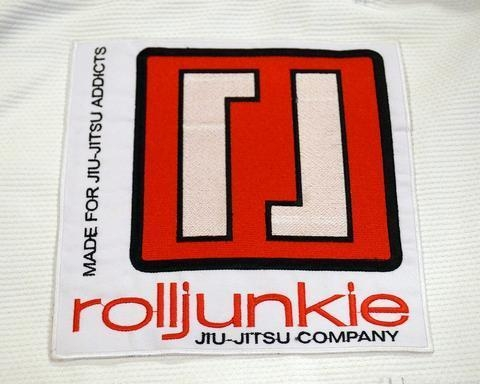 Quality Square Rolljunkie BJJ Patch Sold Out - $10.00 for sale
