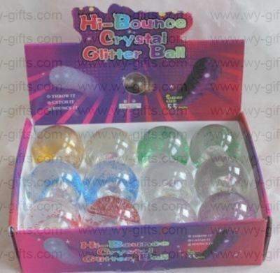 Quality 55mm LED Flashing Bouncing Ball for sale