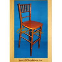 Buy cheap Wooden Double C High Bar Stool Chairs from wholesalers