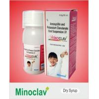 Buy cheap Antibiotics MINOCLAV Dry Syrup from wholesalers