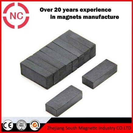 Quality Big Size Ceramic Ferrite Block Magnets For Sale for sale