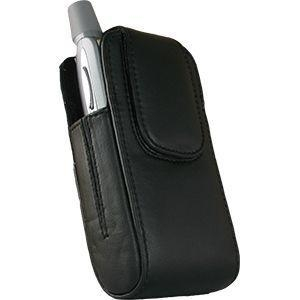 Quality Monaco Vertical Leather Carrying Case/Pouch for Palm Treo 700wx/700w/700p for sale