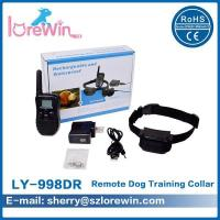 Buy cheap LY-998DR Effective Correctio Electronic Dog Collar With Remote 100Levels from wholesalers
