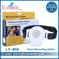 Buy cheap LY-810 Ultrasonic And Voice Talking Dog Collar Bark Stopper Device from wholesalers
