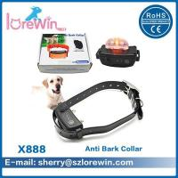 Buy cheap X888 Rechargeable And Waterproof Anti Bark Collar With TPU belt from wholesalers