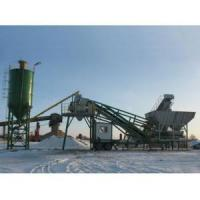 YHZS75 Mobile Concrete Mixing Plant Manufactures