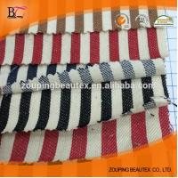 Denim fabric yarn dyed stripe with wholesale prices Manufactures