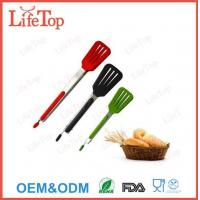 3 Stainless Steel 9 Kitchen Tongs with Silicone Tips Manufactures
