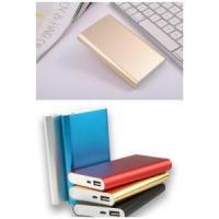 Buy cheap smart phone iphone power supply portable mini polymer slim power bank 8000mah from wholesalers