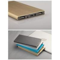 Buy cheap smart phone iphone power supply portable mini polymer book slim power bank 8000mah from wholesalers
