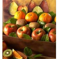 Christmas Fruit Gift Basket N0.8 delivery basket to china Manufactures
