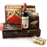 China Christmas gift baskets Wine And Chocolate Journey.NO.38 delivery christmas hamper Manufactures