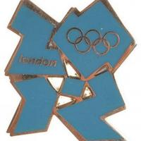 China Category A-Z 2012 Logo Pin Badge on sale