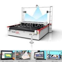 Hide Leather Cutting Laser with Pattern Digitizing