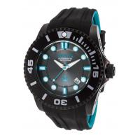 Buy cheap Men's Watches Men's Pro Diver Grand Diver Auto Black & Turq. Silicone Charcoal Dial from wholesalers