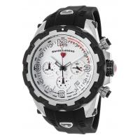 Buy cheap Men's Watches Daredevil Chronograph Black Silicone Silver-Tone Dial Black Bezel from wholesalers