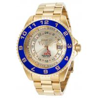 Buy cheap Men's Watches Men's Pro Diver 18K Gold Plated Steel Champagne Dial Blue Bezel from wholesalers