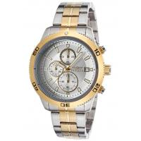 Buy cheap Men's Watches Men's Specialty Chronograph Two-Tone Steel Silver-Tone Dial from wholesalers