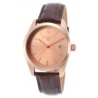 Buy cheap Men's Watches Peninsula Brown Genuine Leather Rose-Tone Dial from wholesalers
