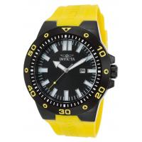 Men's Watches Men's Pro Diver Yellow Polyurethane Black Dial Manufactures