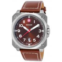 Men's Watches Men's Aerograph Cockpit Brown Genuine Leather and Dial
