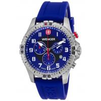 Men's Watches Men's Squadron Chronograph Royal Blue Silicone and Dial Manufactures