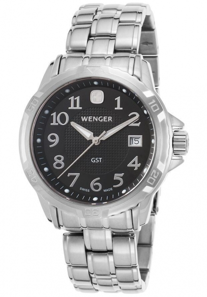 Quality Men's Watches Men's GST Stainless Steel Black Dial for sale