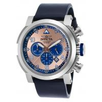 Men's Watches Men's I-Force Chronograph Navy Blue Genuine Leather Rose-Tone Dial Manufactures