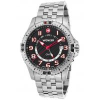 Men's Watches Men's Squadron GMT Stainless Steel Black Dial Manufactures