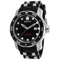 Men's Watches Men's Pro Diver Automatic Black Polyurethane and Dial Manufactures