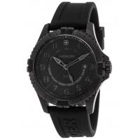 Men's Watches Men's Squadron GMT Black Silicone, Dial & Ion Plated Stainless Steel Manufactures