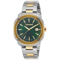 Men's Watches Men's Edge Index SS and Gold-Tone SS Green Dial Manufactures