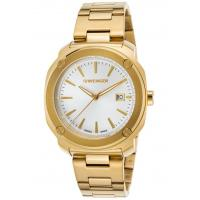 Men's Watches Men's Edge Index Gold-Tone Stainless Steel Light Silver-Tone Dial Manufactures