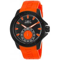 Men's Watches Men's I-Force Orange Polyurethane Black Dial Manufactures