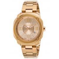 Men's Watches Men's Edge Romans Gold-Tone Stainless Steel Gold-Tone Dial Manufactures
