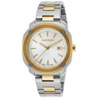 Men's Watches Men's Edge Index SS and Gold-Tone SS Silver-Tone Dial Manufactures