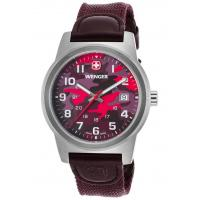 Men's Watches Men's Field Color Purple Nylon and Genuine Leather Camo Dial Manufactures