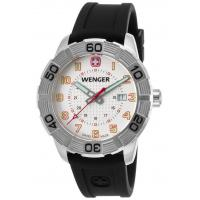 Men's Watches Men's Roadster Black Silicone White Dial Stainless Steel Manufactures