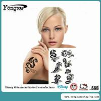 Non Toxic Black Removable Sexy Temporary Tattoo Wholesaler(ET2-1) Manufactures