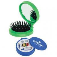 China Foldable Hair Brush With Mirror on sale