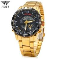 Buy cheap 2017 new design brand AMST full stainless steel waterproof wristwatch from wholesalers