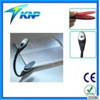 China 1 LED Flexible Book Light Easy Clip on Reading Light Perfect for Night Bookworms on sale
