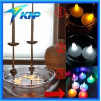 China Hot Wholesale Water Floating LED Tea Light Candle on sale