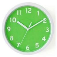 12 Inch Plastic Wall Clock With Glass Silkprint Manufactures